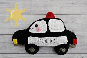 Police Car Kawaii Cuddler™ Crochet Pattern