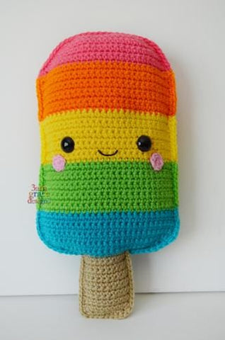 Popsicle Kawaii Cuddler™ Crochet Pattern