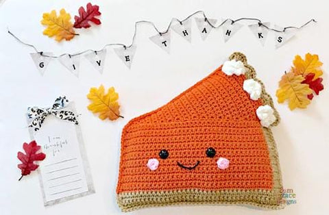 Pumpkin Pie Kawaii Cuddler® Crochet Pattern