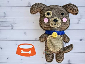 Puppy Dog Kawaii Cuddler™ Crochet Pattern