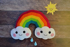 Rainbow Kawaii Cuddler® Crochet Pattern