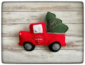 Red Christmas Truck Kawaii Cuddler® Crochet Pattern