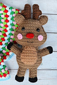 Reindeer Kawaii Cuddler™ Crochet Pattern