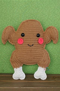Roast Turkey Kawaii Cuddler® Crochet Pattern