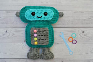 Robot Kawaii Cuddler® Crochet Pattern
