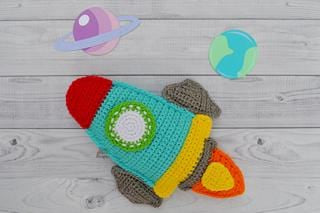 Rocket Kawaii Cuddler® Crochet Pattern