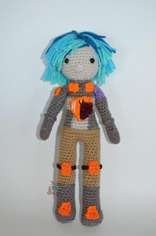 Star Wars Rebels Sabine Wren Amigurumi Crochet Pattern