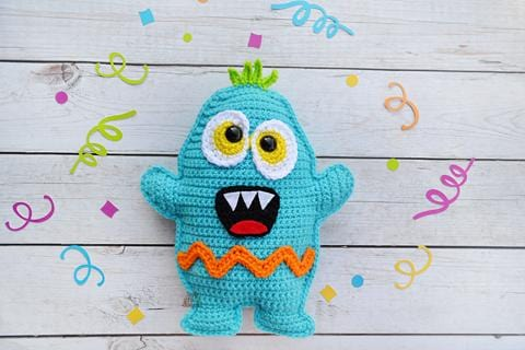 Scary Monster Kawaii Cuddler® Crochet Pattern