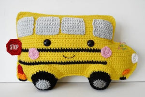 School Bus Kawaii Cuddler® Crochet Pattern