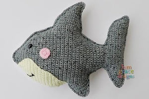 Shark Kawaii Cuddler™ Crochet Pattern