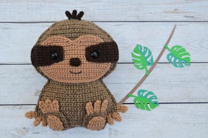 Sloth Kawaii Cuddler® Crochet Pattern