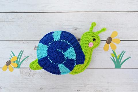 Snail Kawaii Cuddler® Crochet Pattern