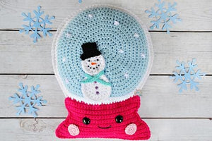 Snow Globe Kawaii Cuddler® Crochet Pattern