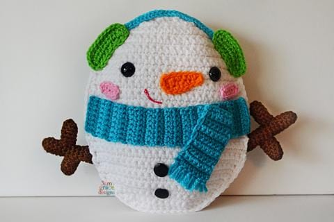 Snowman Kawaii Cuddler® Crochet Pattern