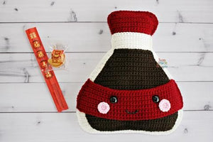 Soy Sauce Kawaii Cuddler™ Crochet Pattern