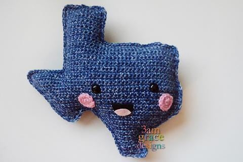 State of Texas Kawaii Cuddler™ Crochet Pattern