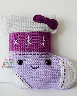 Stocking Kawaii Cuddler® Crochet Pattern