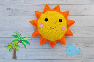 Sunshine Kawaii Cuddler® Crochet Pattern