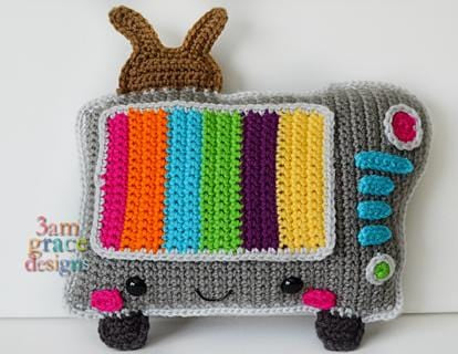Television Kawaii Cuddler® Crochet Pattern