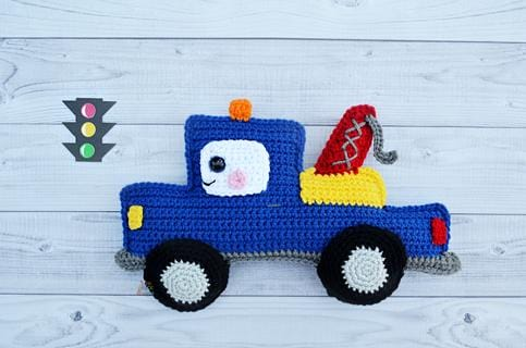 Tow Truck Kawaii Cuddler® Crochet Pattern