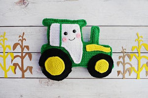Tractor Kawaii Cuddler® Crochet Pattern