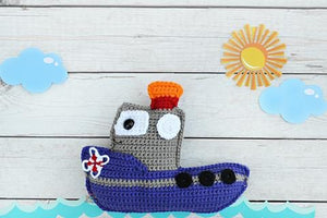 Tugboat Kawaii Cuddler™ Crochet Pattern