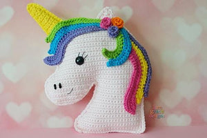 Unicorn Kawaii Cuddler® Crochet Pattern