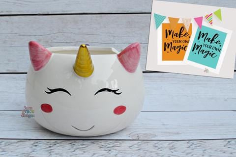Enchanted Unicorn Bundle - Unicorn Yarn Bowl