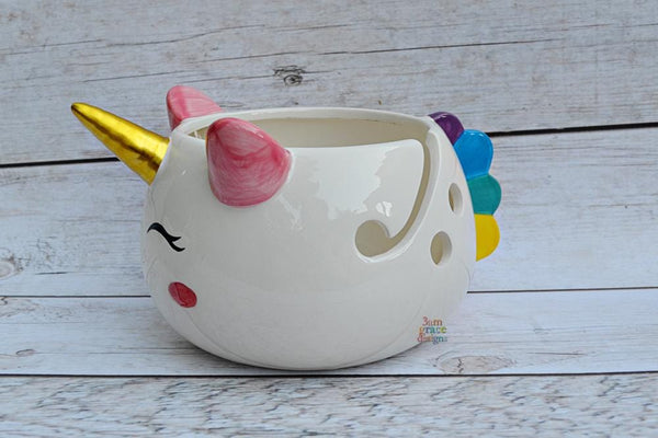 Unicorn Yarn Bowl