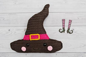 Witch Hat Kawaii Cuddler® Crochet Pattern