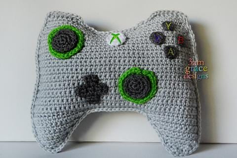 X-Box Controller Kawaii Cuddler® Crochet Pattern