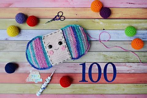 Yarn Skein Kawaii Cuddler® Crochet Pattern