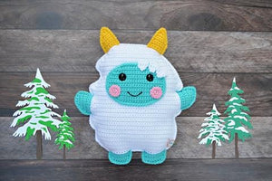 Yeti Kawaii Cuddler® Crochet Pattern