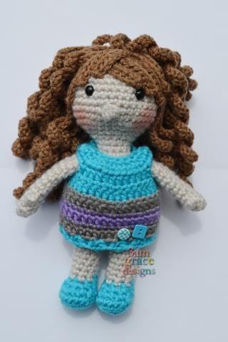 Girl Doll Amigurumi Crochet Pattern