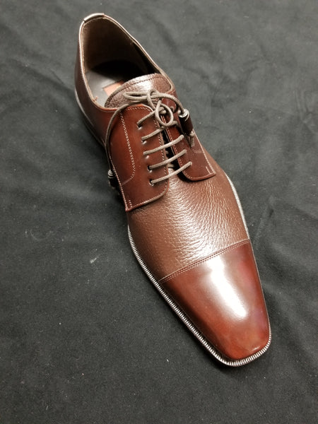 MEZLAN BROWN MEN'S FASHION DRESS SHOES