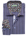 Inserch Icon Purple Men's Long Sleeve Shirt