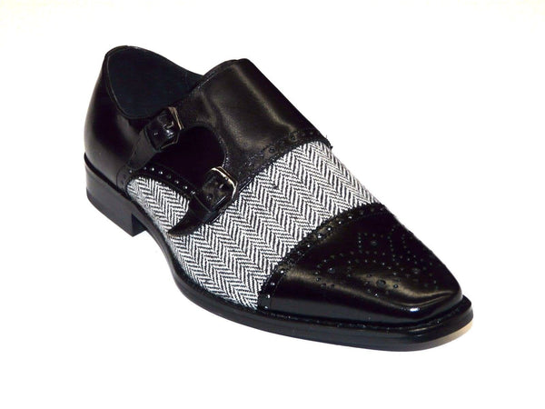 GIOVANNI ELIOT BLACK SHOES