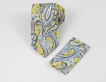 VERSE 9 TOPAZ 15 MEN'S SILK DRESS TIE SET