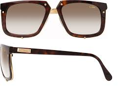 Cazal 643 Tortoise Brown Amber Sunglasses