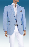 MEN'S INSERCH LINEN BLAZER