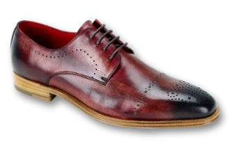 Steven Land Sangria Red Men's Fashion Dress Shoes
