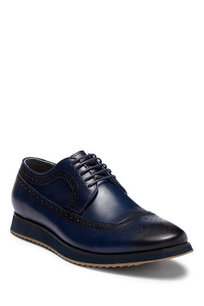 Steven Land Navy Men's Casual Dress Shoes