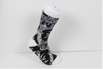 Verse 9 Kawaski White/Black/Grey Design Socks