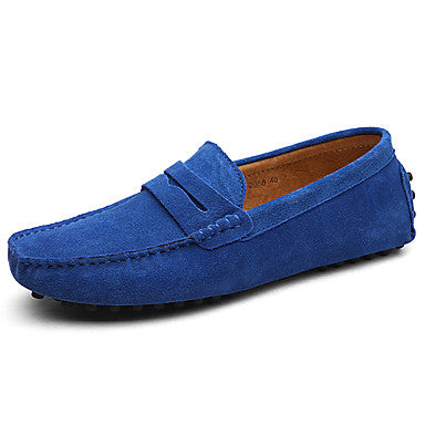 AC Casuals Men's Royal Blue Fashion Slip On Loafers Shoes