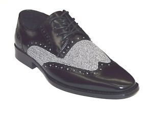 GIOVANNI ETHAN BLACK GRAY SHOES