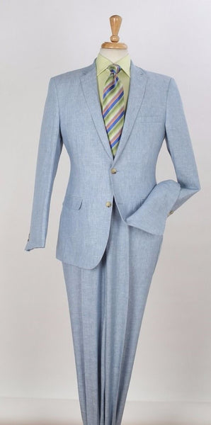 Apollo King Light Blue Men's Suit