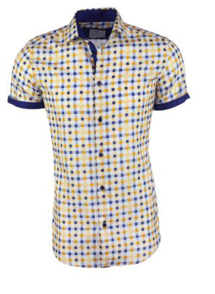 Suslo Couture Short Sleeve Shirt