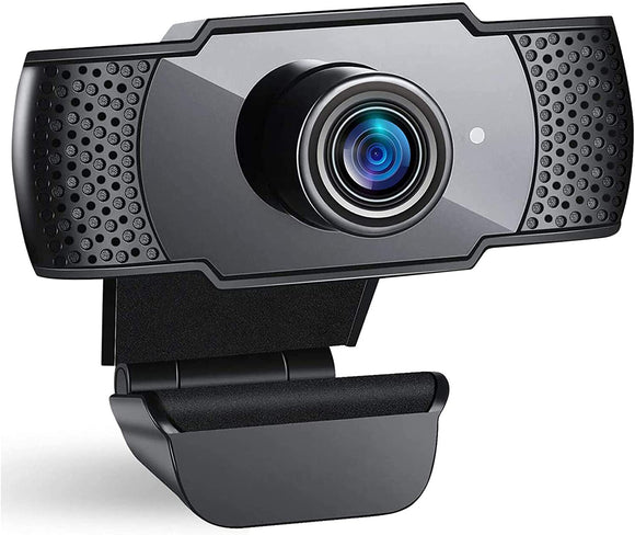 Webcam 1080P Full HD, doosl Webcam per Laptop, Computer con Clip Regolabile per Videochiamate, Studi, Registrazione e Giochi