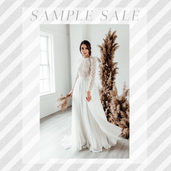 SAMPLE SALE: Florence Skirt in French Vanilla