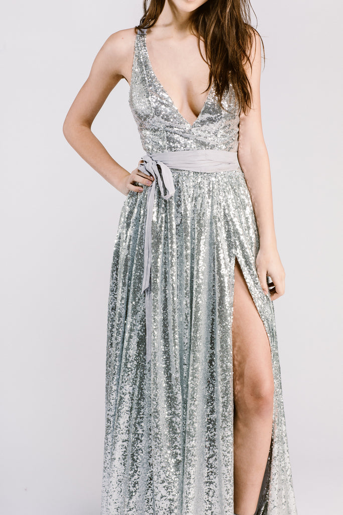 Emmy Dress in Sequin